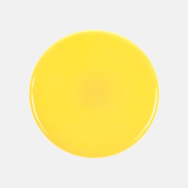 Färgglada jojor i plast med reklamtryck