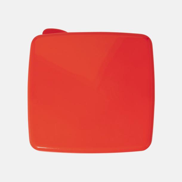Röd Matlåda med kylare i locket - med reklamtryck