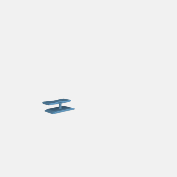 Blå Smart kartonglås med tryck