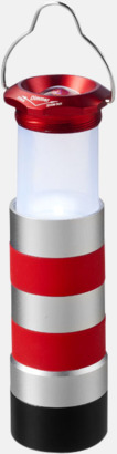 Fyrformade aluminiumficklampor på 1 watt med reklamtryck