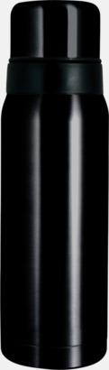 Svart (blank) Vildmark Kompakt 0,75 l med reklamtryck