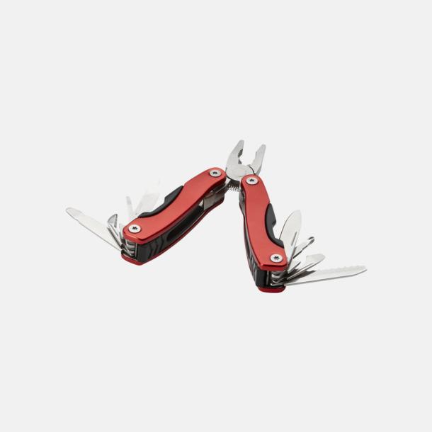 Röd Små och billiga multiverktyg med reklamtryck