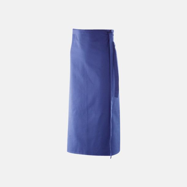 Royal Blue (100 x 80 cm) Förkläden i 5 varianter med reklamtryck