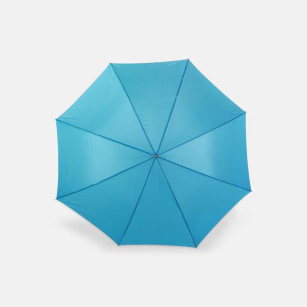 Ljusblå Bolton reklamparaply