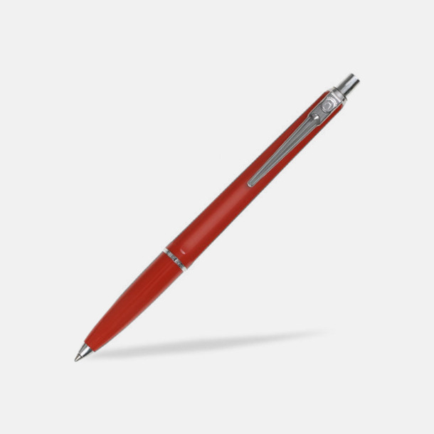 Röd (bläck) Ballografpennor med eget tryck