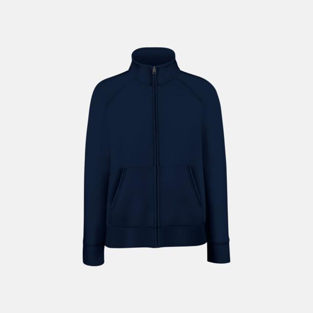 Deep Navy Figursydd jacka eller tröja för damerna