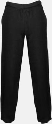 Jet Black Mjuka byxor för barn med reklamtryck