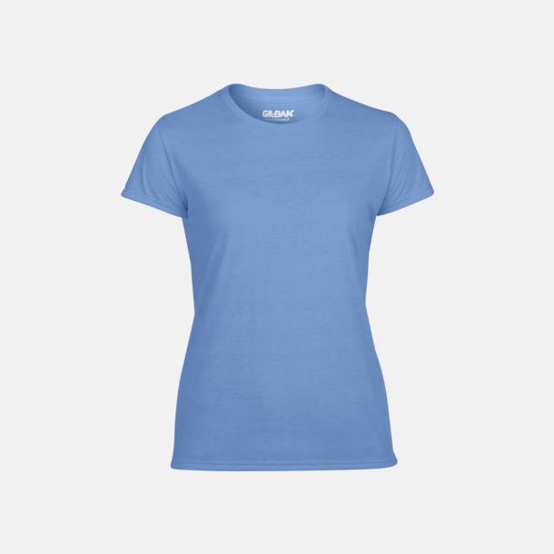 Carolina Blue Fräshcare funktionströjor med tryck