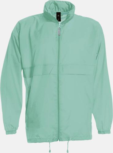 Pixel Turquoise (unisex) Vind- och vattentäta jackor för dam, herr och barn - med tryck