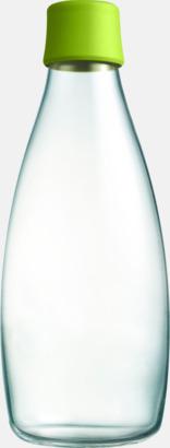 Forest Green Större glasflaskor med reklamtryck