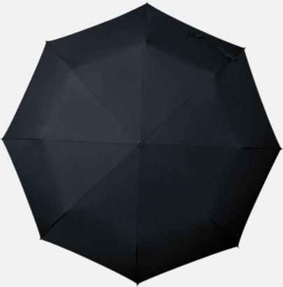 Svart Paraplyer med tryck
