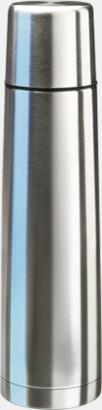 Stålgrå (90 cl) Köldtålig termos med egen gravyr