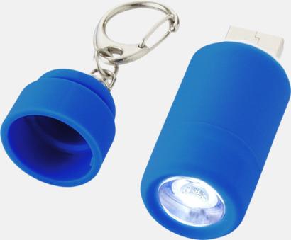 Laddningsbara ficklampor med USB-nyckel