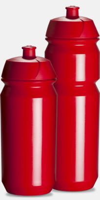 Röd Vattenflaska med eget tryck