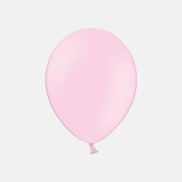 Pink 004 (PMS 182) Ballonger med tryck