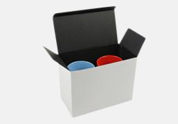 Presentförpackning 2-pack Snygga muggar med eget tryck