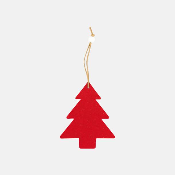 Julgran Julhängare med reklamtryck