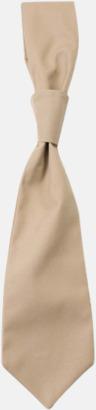 Khaki (slips) Ready-to-wear slipsar och kravatter med eget tryck