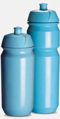 Ljusblå Vattenflaska med eget tryck
