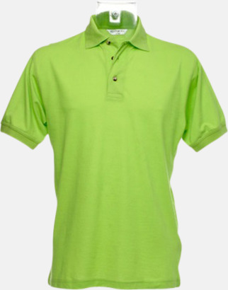 Lime Arbetspikétröjor i många färger - med reklambrodyr
