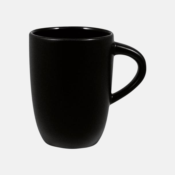 Svart Kaffemuggar med tryck
