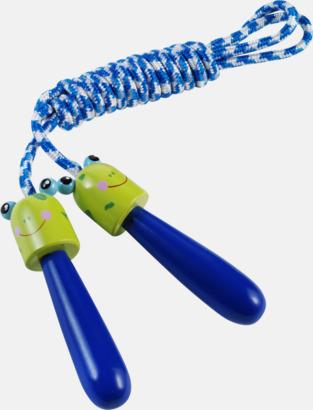Blå/Limegrön Hopprep för barn med djurmotiv
