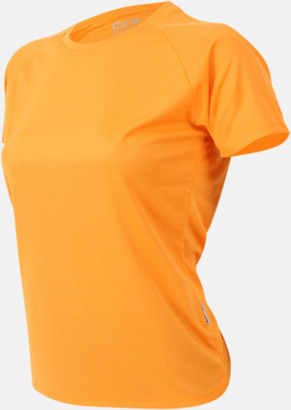 Gold yellow Sport t-shirts i många färger - med reklamtryck