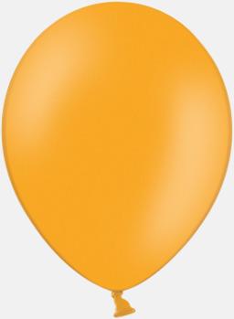 Orange 007 (PMS 1575) Ballonger med tryck