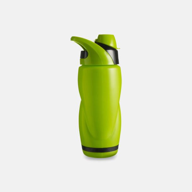 Grön / Svart Vatten och sportflaska med tryck