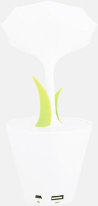 Baksida Solcellsladdare i blomdesign med reklamtryck