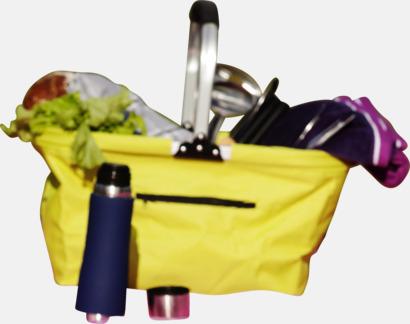 Shopping- och picknickkorg med eget tryck