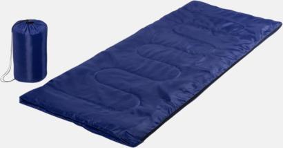 Blå Sovsäckar med reklamtryck