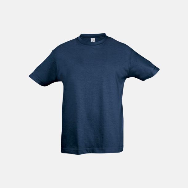 Denim Billig barn t-shirts i rmånga färger med reklamtryck