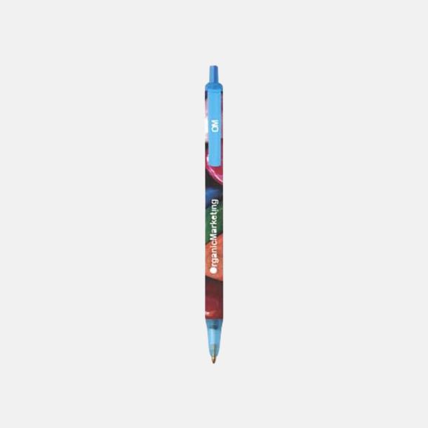 Blue Pastel (Digital) Bic kontorspennor med eget tryck