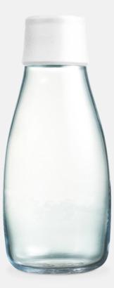 Frosted White Retap Flaska 50 cl med reklamtryck