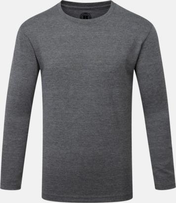 Grey Marl (pojke) Färgstarka långärms t-shirts i herr-, dam och barnmodell