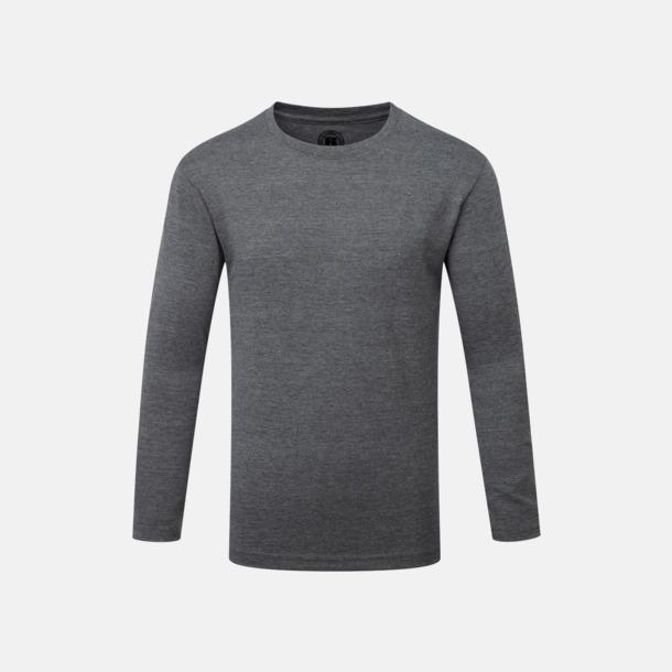 Grey Marl (barn) Färgstarka långärms t-shirts i herr-, dam och barnmodell