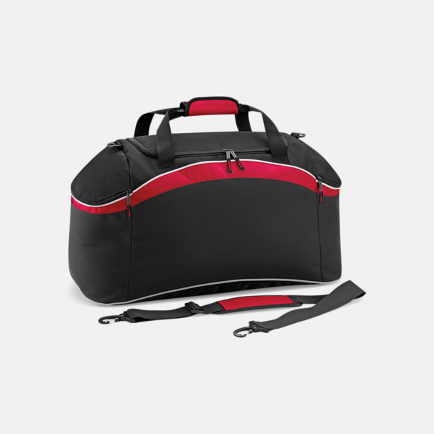 Black/Classic Red/White Väskor med reklamtryck