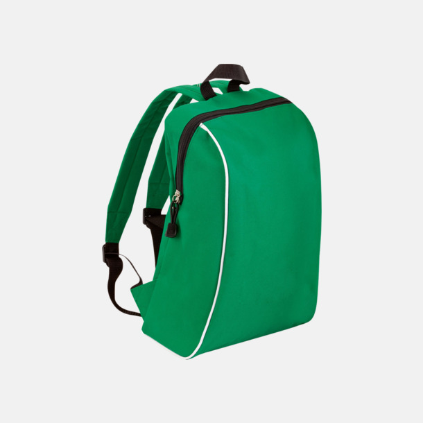Grön Sportiga ryggsäckar i retro