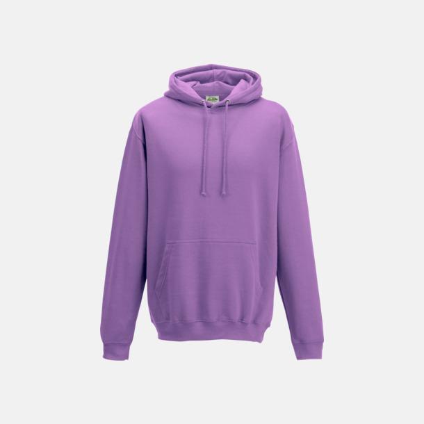 Lavender Billiga collegetröjor i unisexmodell - med tryck