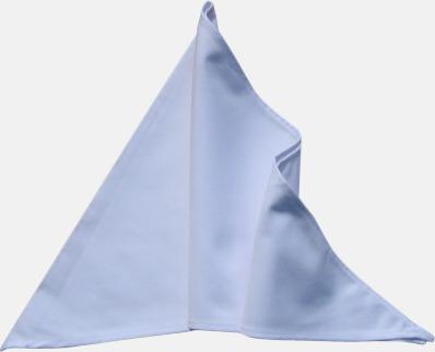 Vit Tåliga scarfs med reklamlogo