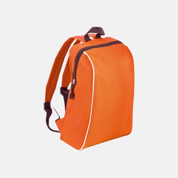 Orange Sportiga ryggsäckar i retro