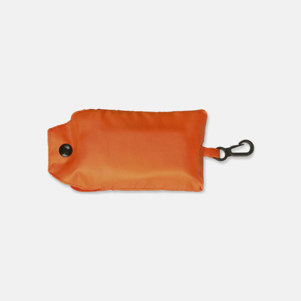 Orange Trendig, vikbar väska med belt-clip