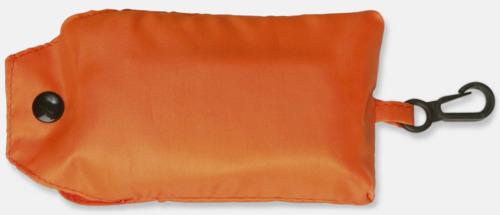 Orange Trendig, vikbar väska med belt-clip
