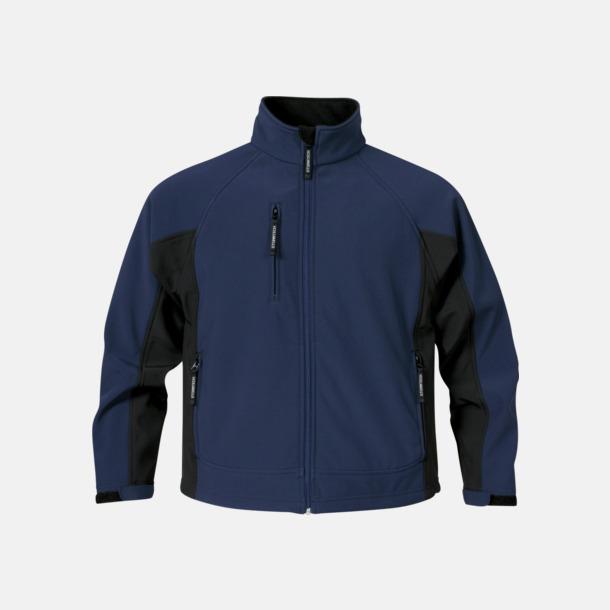 Marinblå/Svart (herr) Kvalitetsjackor i herr- & dammodell med reklamtryck