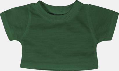 Bottle Green (enfärgad) Enfärgade t-shirts eller med färgad kant - med reklamtryck