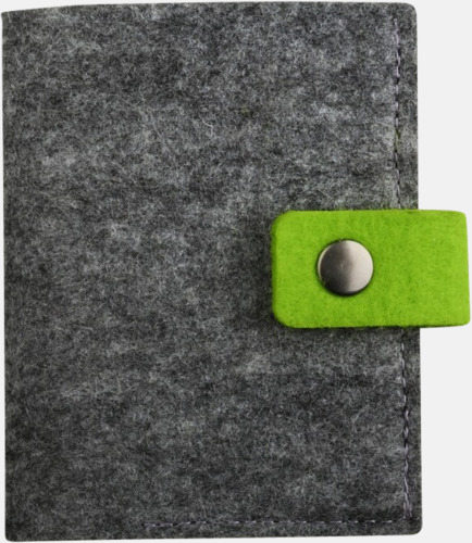 Visitkortsfodral i filt med reklamtryck