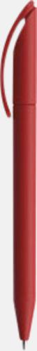 Mörkröd (soft touch) Prodirs DS3-pennor i matta, exklusiva färger - med tryck