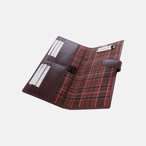 Lädermappar i hög kvalitet - med reklamtryck