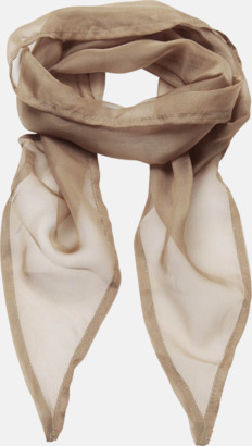 Khaki Tunna accessoarscarfs i många färger